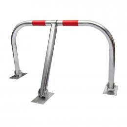 Chrome Coated Steel Parking Barrier