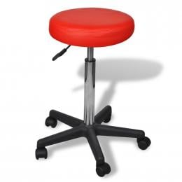 Office Bar Stool Red