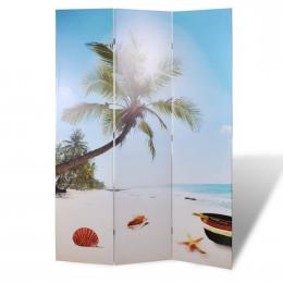 Folding Room Divider 120x170 Cm Beach