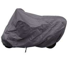 Motorcycle Cover Grey Polyester