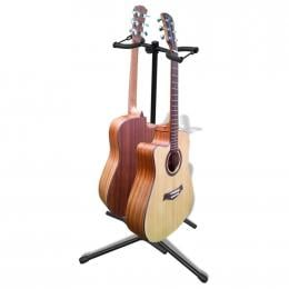 Adjustable Double Guitar Stand Foldable