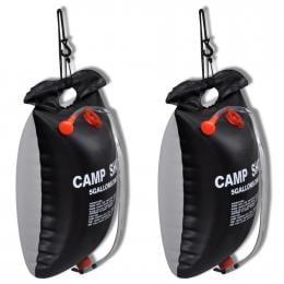 Camp Shower 2 Pcs 20 L Portable Bags