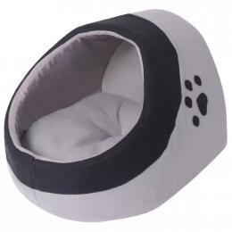 Vidaxl Cat Cubby Grey And Black L