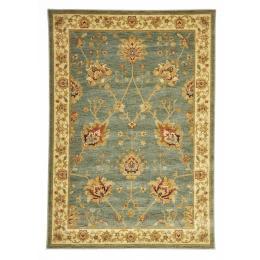 Classic Chobi Design Rectangular Floor Rug - Blue