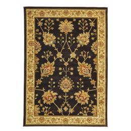 Classic Chobi Design Rectangular Floor Rug - Brown