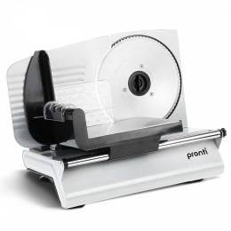 Pronti Deli and Food Meat Slicer with 2 Blades