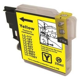 Suit Brother. LC38 LC67 Yellow Compatible Inkjet Cartridge