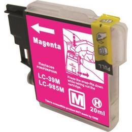 Suit Brother. LC39 Compatible Magenta Cartridge