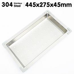 Stainless Steel Sink Colander 445 x 275mm