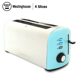 Westinghouse 4 Slice Toaster - Pearl Blue
