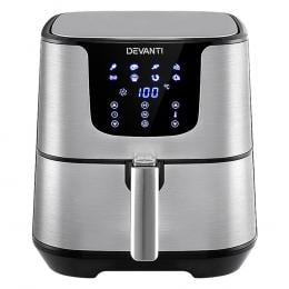 Air Fryer 7L LCD Fryers Oil Free Oven Airfryer Kitchen Healthy Cooker