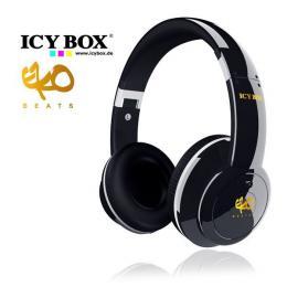 ICY BOX Big City Vibes Headphones - Black (IB-HPH2)