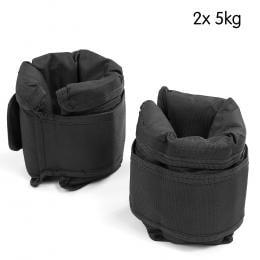 2 x 5kg Powertrain Adjustable Ankle Weights
