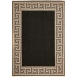 Adonis Charcoal Outdoor Floor Rug