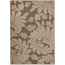 Bloom Natural Outdoor Floor Rug
