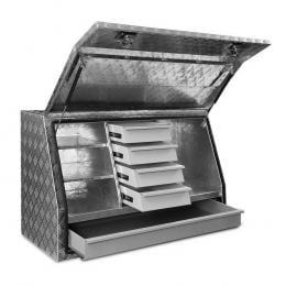 Aluminium Toolbox Generator Tool Box Drawer Truck Canopy Trailer Locks