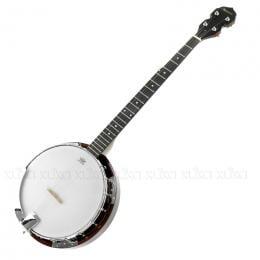 5 String Resonator Banjo Brown
