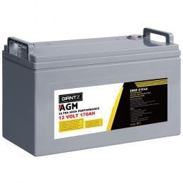170Ah Deep Cycle Battery 12V AGM Marine Sealed Power Portable Box