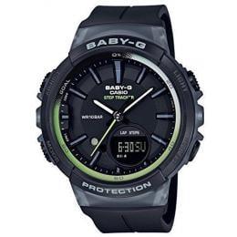 Casio Baby-G Analogue/Digital Black Female Step Tracker Watch...