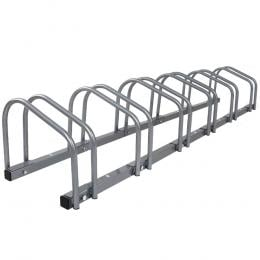 1 - 6 Bike Floor Parking Rack Instant Storage Stand Bicycle Portable