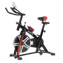 Powertrain  Home Gym Flywheel Exercise Spin Bike - Black