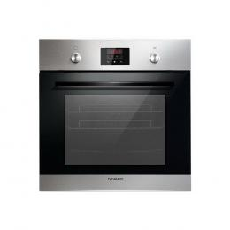65L Electric Built in Wall Oven Stainless Steel Fan Forced Convection