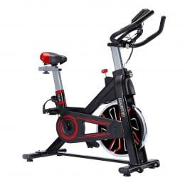 PowerTrain RX-600 Exercise Spin Bike Cardio Cycle - Red