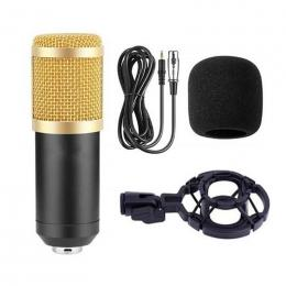 BM800 studio condenser mic set Black Gold