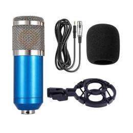 BM800 studio condenser mic set Blue