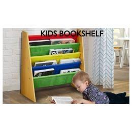 Levede Wooden Kids Children Bookcase Shelf Toy Organiser Storage