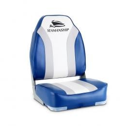 2X Folding Boat Seats Seat Marine Seating Set All Weather Swivels