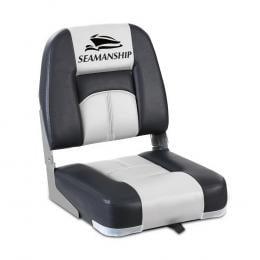 2X Folding Boat Seats Seat Marine Seating Set Swivels All Weather