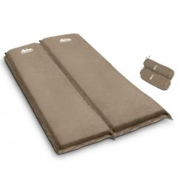 Self Inflating Mattress Camping Sleeping Mat Air Bed Pad Double