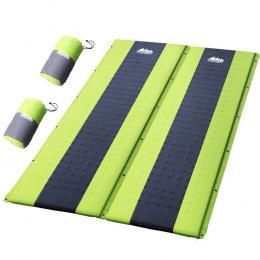 Self Inflating Mattress Camping Sleeping Mat Air Bed Pad Double Green