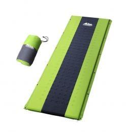 Self Inflating Mattress Camping Sleeping Mat Air Bed Pad Single Green