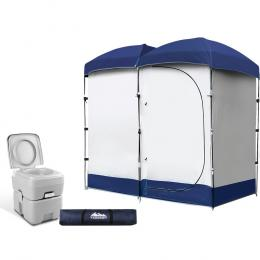 20L Outdoor Portable Toilet Camping Shower Tent Ensuite Change Room