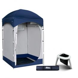 Camping Shower Tent Portable Toilet Outdoor Change Room Ensuite
