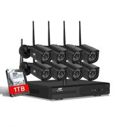 UL-tech CCTV Wireless Security Camera System 8CH Home Outdoor WIFI