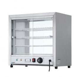 Commercial Food Warmer Pie Hot Display  Cabinet Stainless Steel