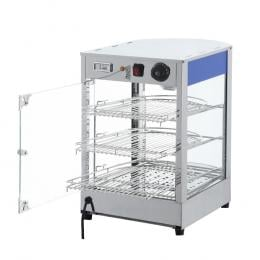 Commercial Food Warmer Pie Pastry Hot Display Showcase Stainless Steel