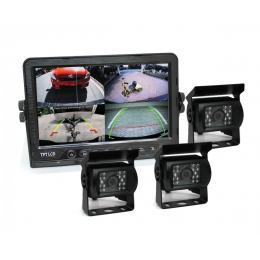 9In Dvr Monitor 4ch Realtime  Vehicle Reversing Recording