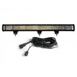 31In Led Light Bar Philips Work Driving 4 Rows Flood Spot Combo