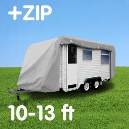 Caravan cover with zIp: 10-13ft