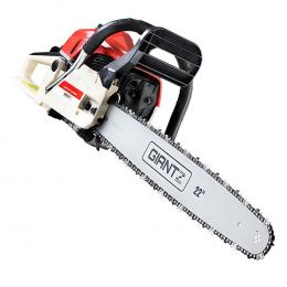 75CC Petrol Commercial Chainsaw Chain Saw Bar E-Start Pruning