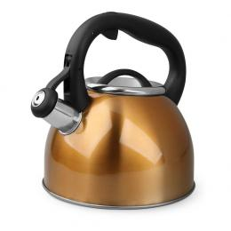Bonn 2.5L Whisting Stovetop Kettle Stainless Steel Copper