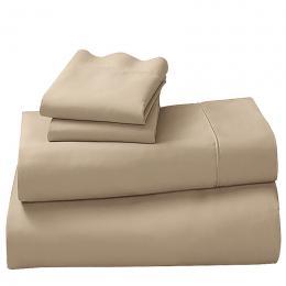 1000tc Cotton Rich Queen Sheet Set - Latte