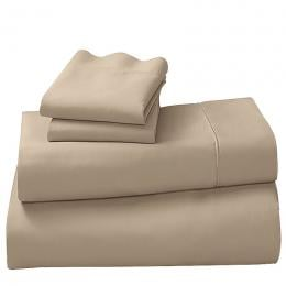 1200tc Cotton Rich Queen 4 Piece Sheet Set - Taupe