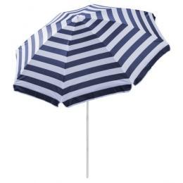 Outdoor Beach Umbrella Hawaii 1.8m Sun Shade  Carry Bag Tilt Pool Blue