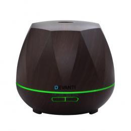 Ultrasonic Aroma Diffuser Oil LED Air Humidifier 400ml Dark Wood