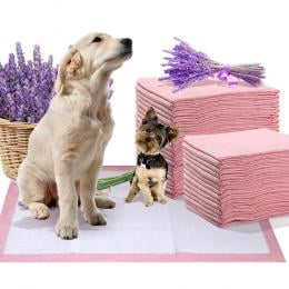 PaWz 100 Pcs 60x60 cm Pet Puppy Toilet Training Pads Lavender Scent